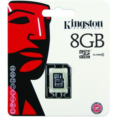 Kingston 8GB Micro Secure Digital High Capacity (SDHC) Card - Class 4