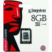 Kingston 8GB Micro Secure Digital High Capacity (SDHC) Card - Class 4