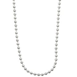 Sterling Essentials Silver 1.5 mm Bead Chain (16-30 Inch)