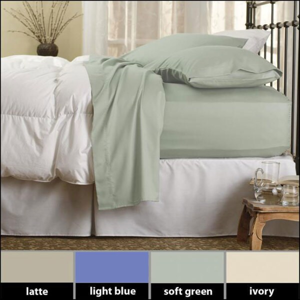 Famous Maker Cozy Flannel Deep-pocket Sheet Set