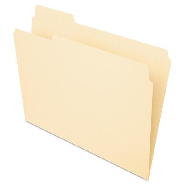 Pendaflex Essentials 1/3-cut Manila File Folders