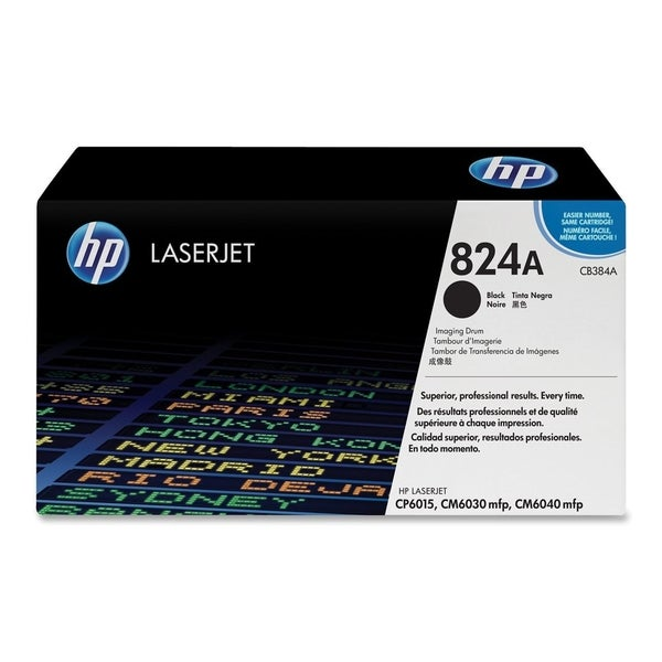 HP 824A (CB384A) Black Original LaserJet Image Drum
