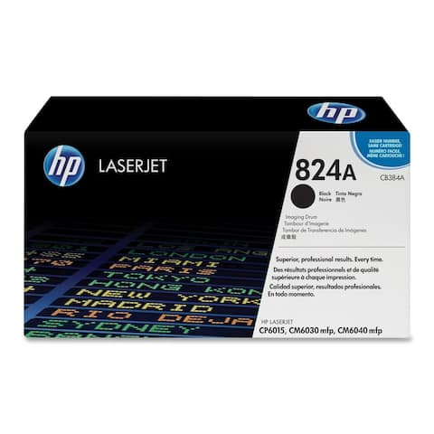 HP 824A (CB384A) Black Original LaserJet Image Drum - Single Pack
