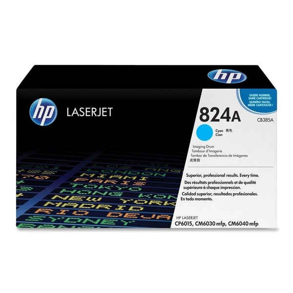 HP 824A (CB385A) Cyan Original LaserJet Image Drum - Single Pack