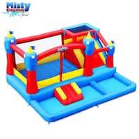Blast Zone Misty Kingdom Bouncer Ball Pit/ Water Park