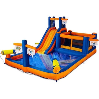 Blast Zone Pirate's Bay Inflatable Water Combo