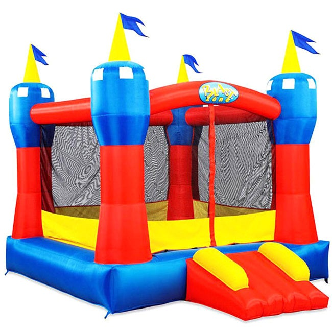 Magic Castle Bounce House by Blast Zone (As Is Item), Clear