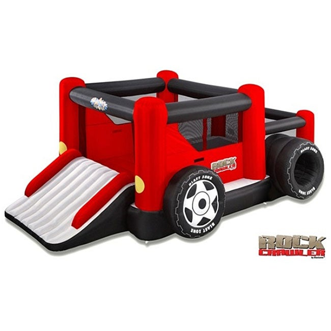 Blast Zone Rock Crawler Bouncer and Ball Pit