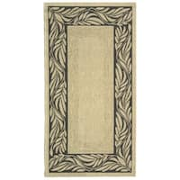 "Safavieh Tranquil Natural/ Terracotta Indoor/ Outdoor Rug - 2'-7"" x 5'"