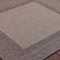 Safavieh Lakeview Brown/ Natural Indoor/ Outdoor Rug - 8' X 11'