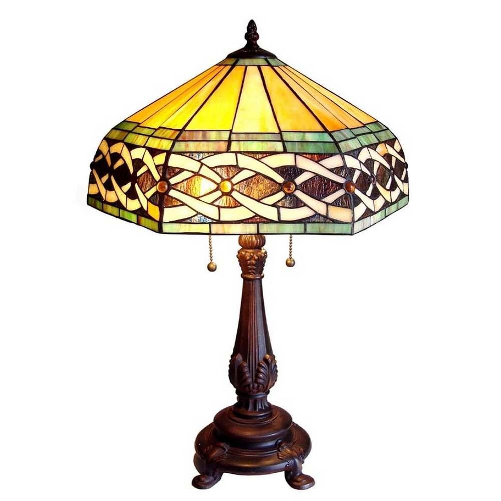 Shop Tiffany Style Victorian 2 Light Table Lamp Free