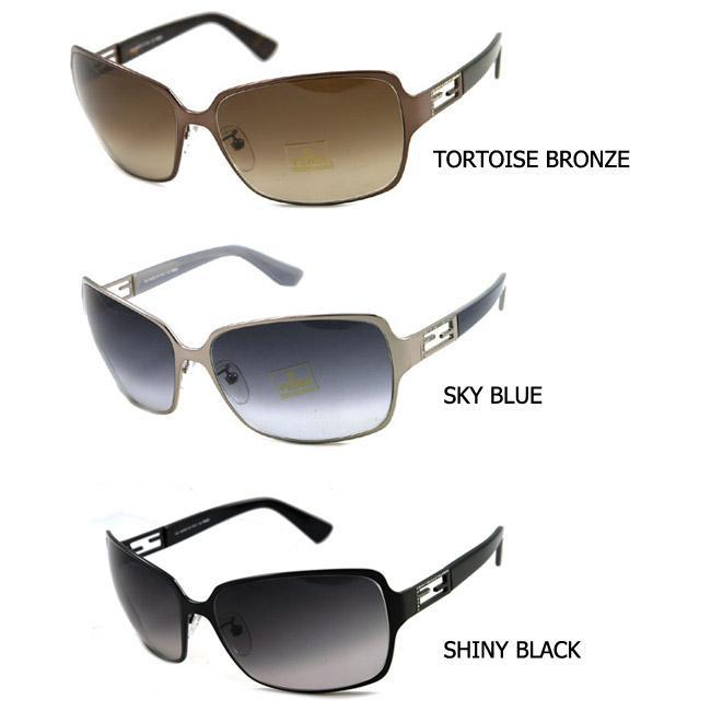 76e312119a5 Shop Fendi 466R Women s Stylish Square Sunglasses - Free Shipping Today -  Overstock.com - 3841881