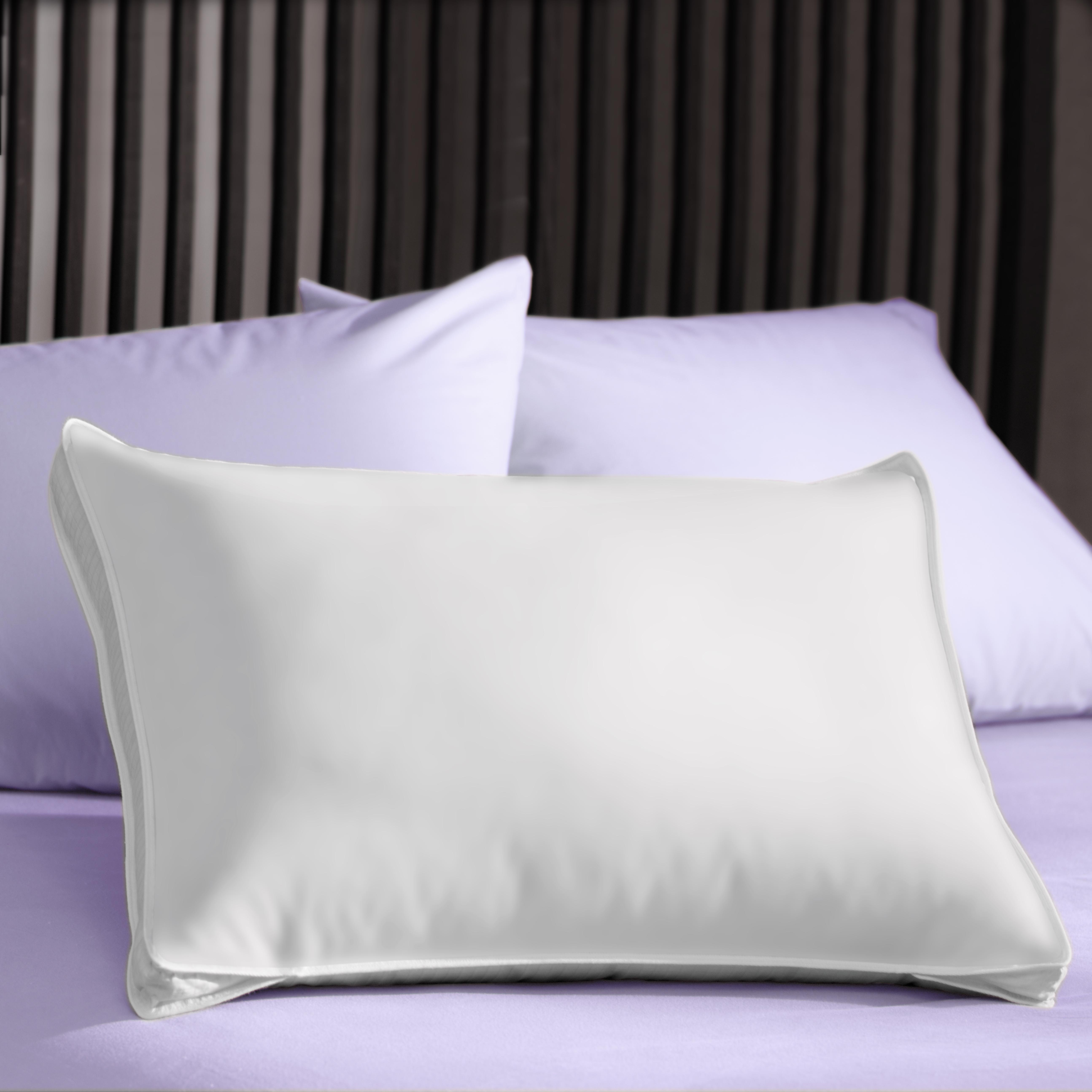 Extra Firm 3-inch Gusset Natural Pillows (Set of 2)