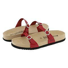 a71b28e12a Shop Mephisto Sydel Red Patent Sandals - Free Shipping Today ...
