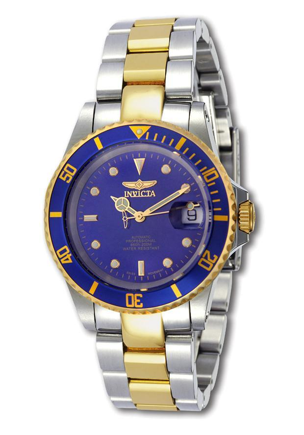 5578716d7 Shop Invicta Men's Two-tone Automatic Pro Diver Watch - Free Shipping Today  - Overstock - 3998722