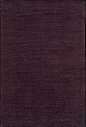 Nourison Plum Wool/Silk Rug (8'3 x 11') - Thumbnail 1