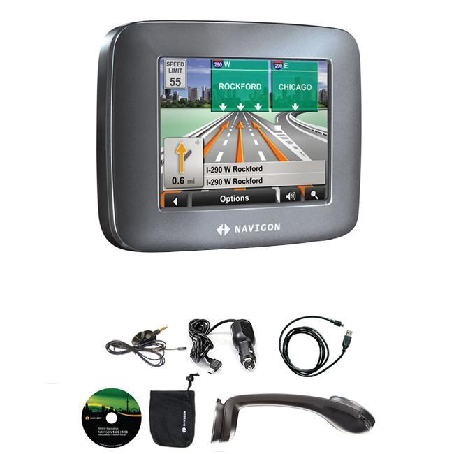 shop navigon 5100 gps automobile navigator refurbished. Black Bedroom Furniture Sets. Home Design Ideas