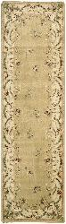 Nourison Brentwood Gold Wool Rug (7'10 Octagon) - Thumbnail 1