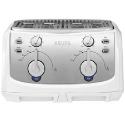 Krups FEM4W 1600-watt Toast Expert 4-slice Toaster - Thumbnail 1