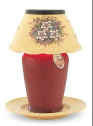 Ceramic Candle Warmer Lamp - Floral Bouquet - Thumbnail 1