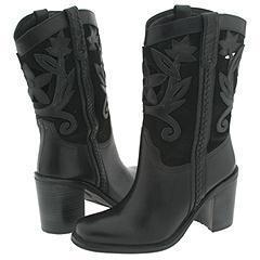 Matisse Reno Black Leather Boots