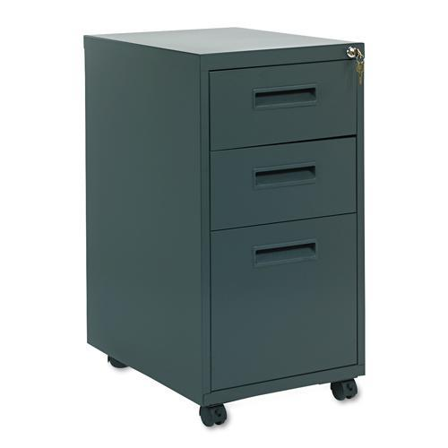 Hon 1600 series 20 inch deep 3 drawer pedestal file for Kitchen cabinets 20 inches deep