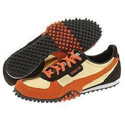 design intemporel 76f00 bf47f Puma 5000m LM Metallic Gold/Golden Poppy/Black/Coffee Athletic |  Overstock.com Shopping - The Best Deals on Athletic