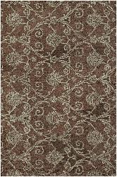 Artist's Loom Hand-tufted Transitional Floral Rug (5' x 7'6) - Thumbnail 2