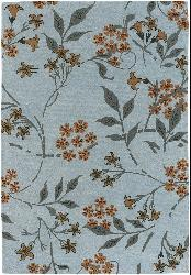 Hand-tufted Mandara New Zealand Wool Rug (7'9 x 10'6 - Thumbnail 2