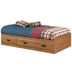 Country Pine Twin-size Mate's Bed - Thumbnail 1