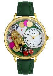 Whimsical Unisex 'Casino' Theme Watch