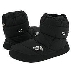 6e65936f7 The North Face NSE Tent Bootie Black/Black Slippers