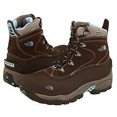 a0229bd3f The North Face Women's Off Chute II Brownie Brown/Icy Blue Boots