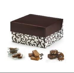 Vanilla, Pecan and Espresso Caramels 24-oz Gift Box