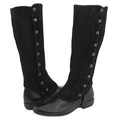 Lumiani Rina Black Leather Boots