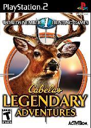 PS2 - Cabela`s Legendary Adventures - Thumbnail 1