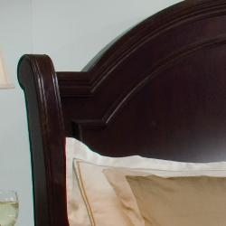 Dupioni Queen Bed with 2 Nightstands - Thumbnail 2