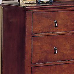 Corrine Dresser and Mirror Set