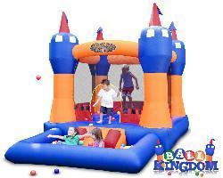 Blast Zone Ball Kingdom Jump Castle Bounce House/ Ball Pit - Thumbnail 1