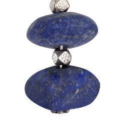 Lapis Lazuli Silver Earrings (Thailand)