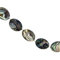 Abalone Shell Silver Necklace (Thailand) - Thumbnail 2