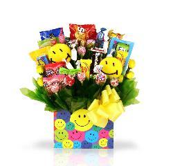 Sweets in Bloom 'Smile You're on Candy Camera' Gift Basket - Thumbnail 1
