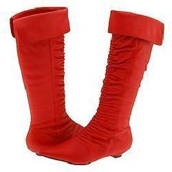 rsvp Bonita (Wide Calf) Red Leather Boots - Free Shipping Today ...