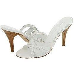 Shop Gabriella Rocha Mica White Leather Sandals Free