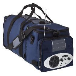 Thumbnail 3, Accordian Expandable Music Cooler with AM/FM Radio/ MP3. Changes active main hero.