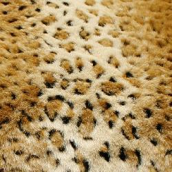 Cheetah Faux Fur Throw Blanket (58 in. x 60 in.) - Thumbnail 2