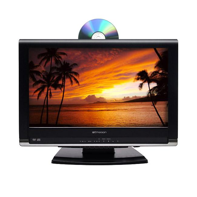 Shop Emerson Ld195emx 19 Inch Lcd Hdtv Dvd Combo Refurbished