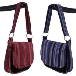 Cotton 'On the Go' Shoulder Bag (Guatemala) - Thumbnail 1
