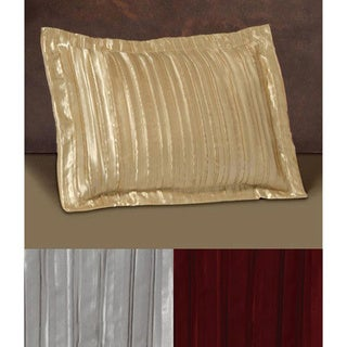 Pleated Satin Shams (Set of 2)