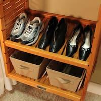 John Louis Home 12-inch Standard Adjustable Shelves Kit (Set of 2)